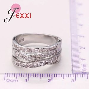Jewelry - Just Arrived 925 Sterling Silver Cross Ring For Wo